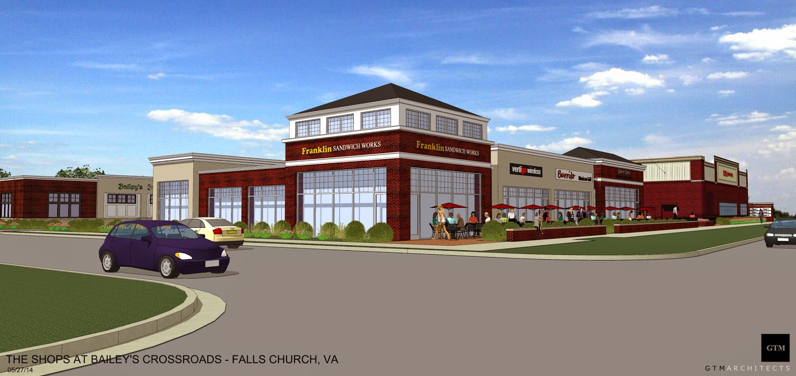 the annandale blog shopping center planned for route 7 bailey s