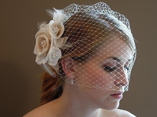 short wedding veils headpieces