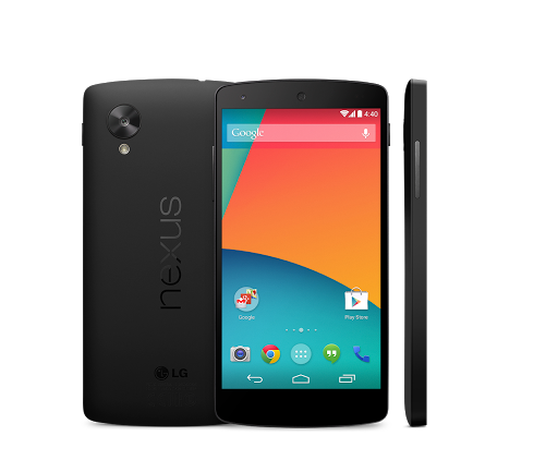 Google Nexus 5 google play store picture