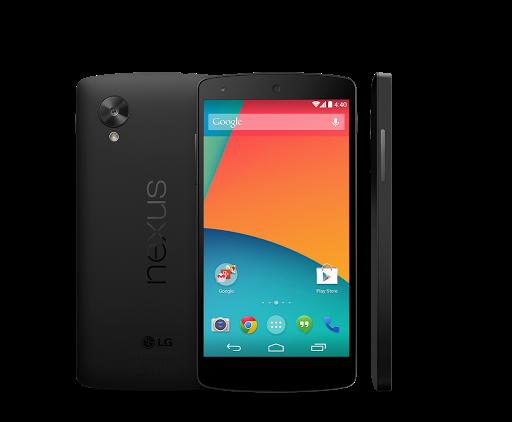 Google Nexus 5 google play store picture