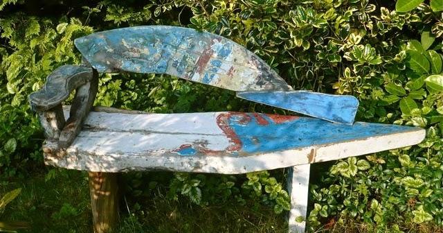Salvo Furniture Garden Boat Benches