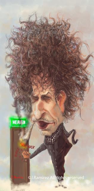 Bob Dylan knocking on Heaven's door