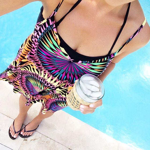 Mara Hoffman swing dress   Beautifully Seaside