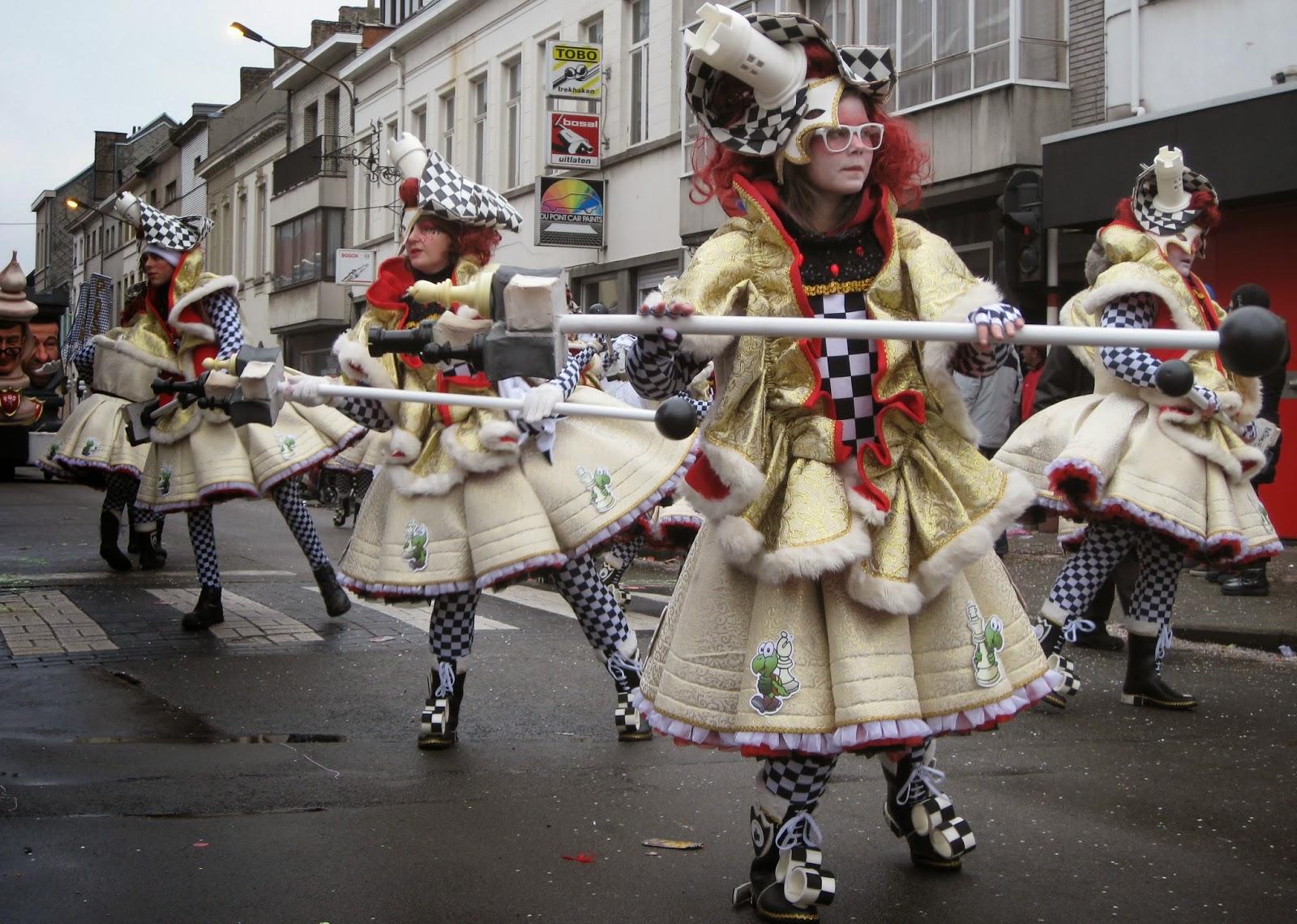Carnaval Aalst foto- en videoblog: 2. Drasj