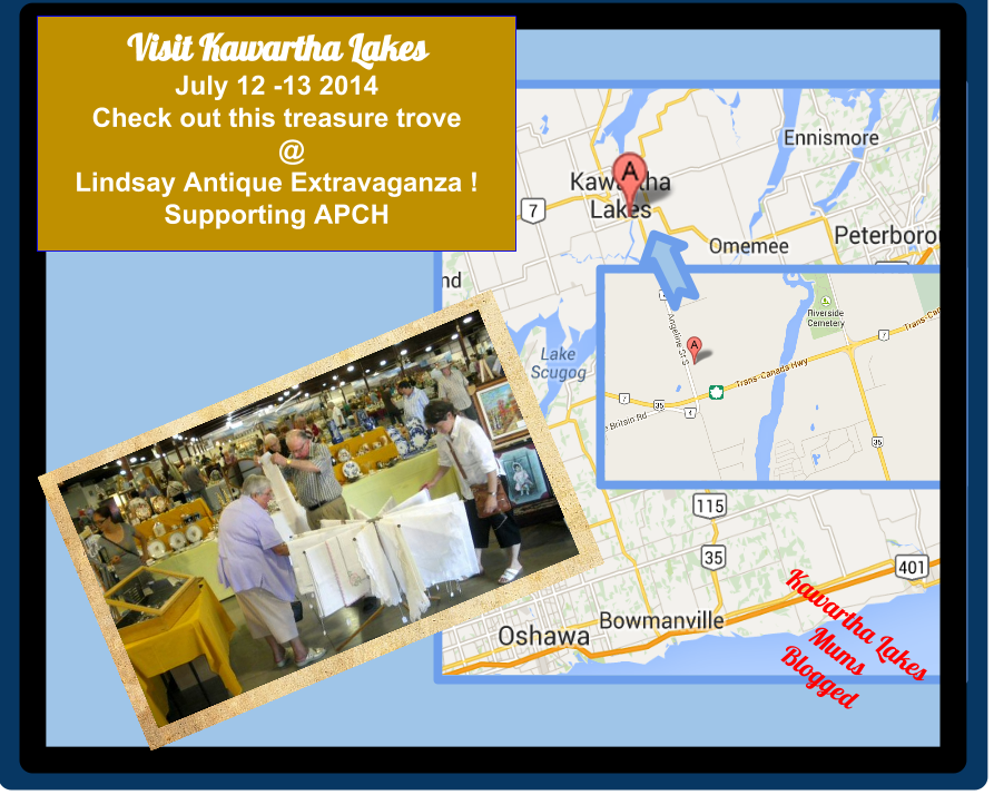 Lindsay Antique Extravaganza Kawartha Lakes Ontario July 12-13 2014 Victorian Tea, 55 Dealers!