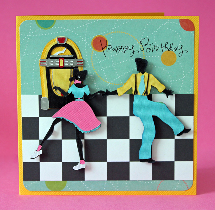 Pretty paper pretty ribbons nifty fifties birthday card nifty fifties birthday card bookmarktalkfo Images