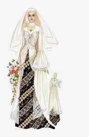 Gambar Gaun Pengantin Muslimah Cantik, ini sengaja kami berikan kepada ...