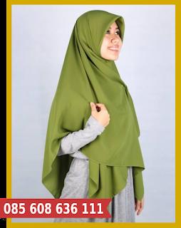 jilbab segi empat harga grosir