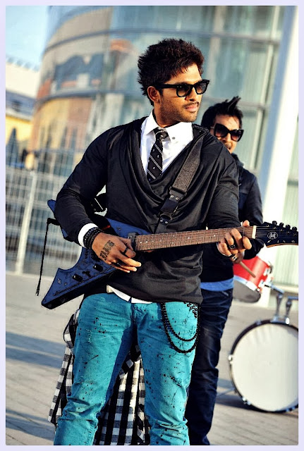 Allu Arjun Guitar Playing