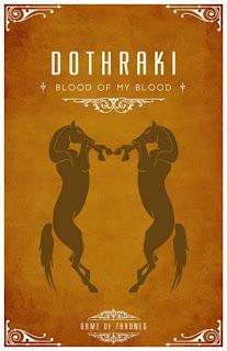 emblema casa Dothraki - Juego de Tronos en los siete reinos