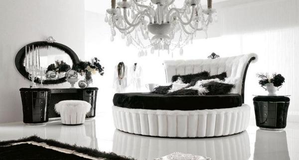 Desain Kamar Tidur Unik Hitam dan Putih | Model Denah Rumah Minimalis