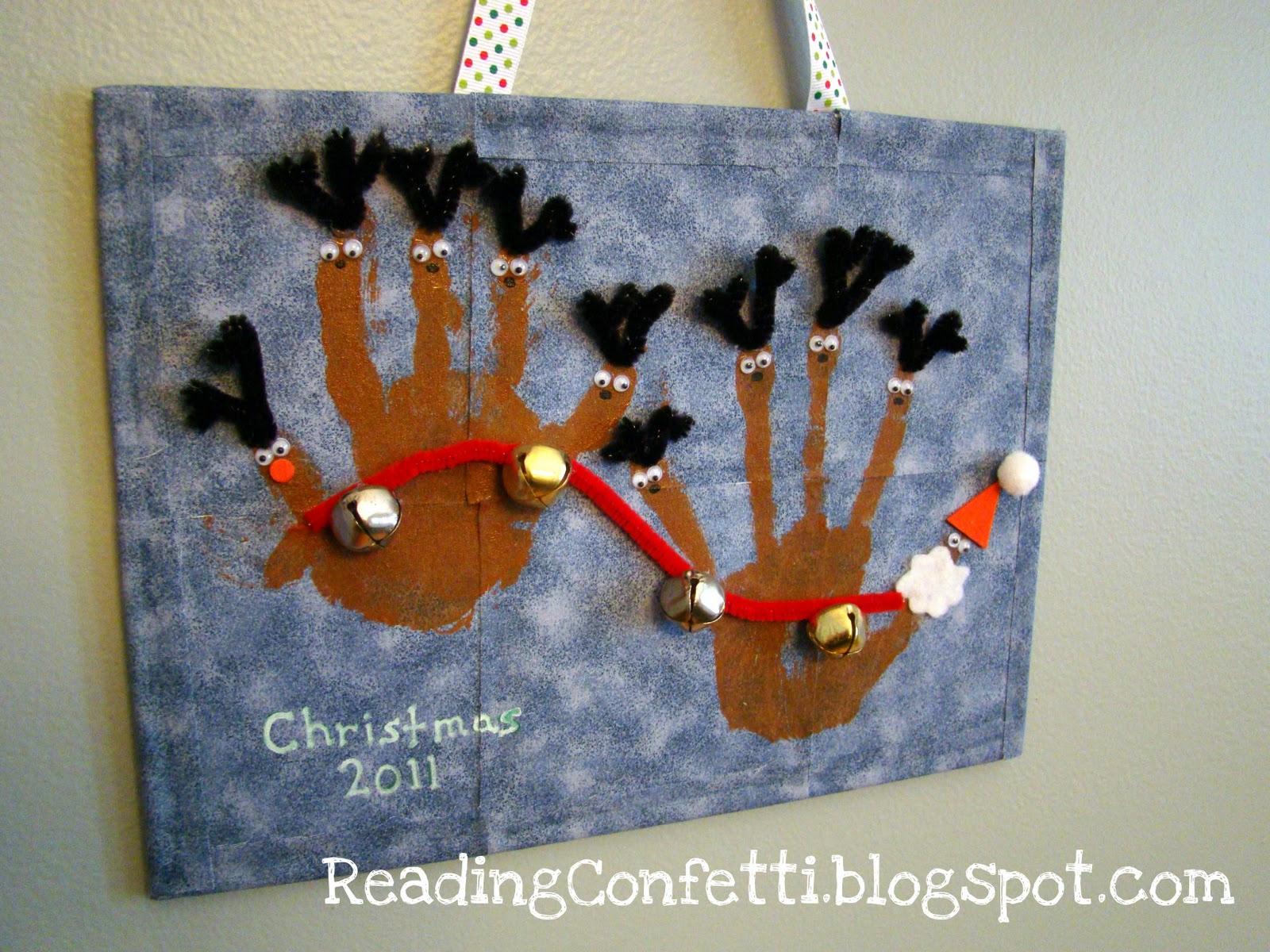 Handprint Christmas Ornaments With Poem | New Calendar Template Site