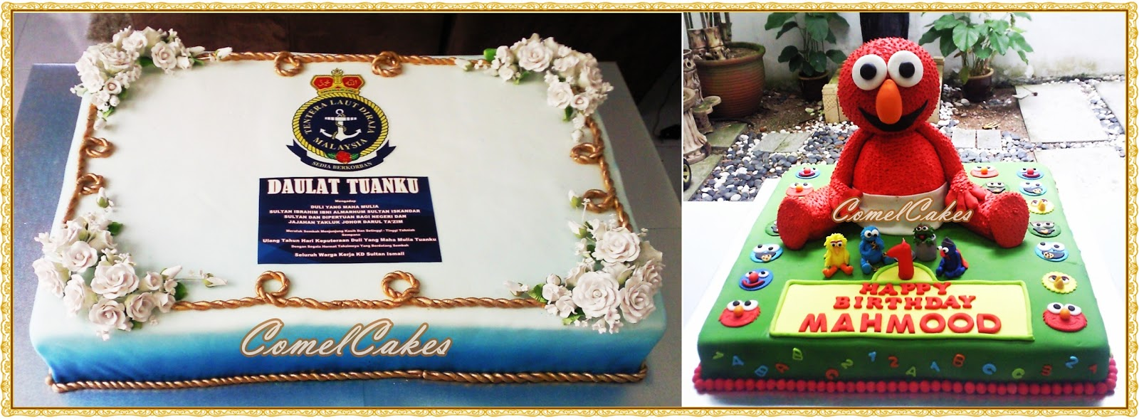 Comels Cakes Cupcakes Johor Bahru December 2011