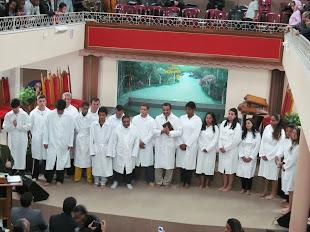 Batismo na Sede!