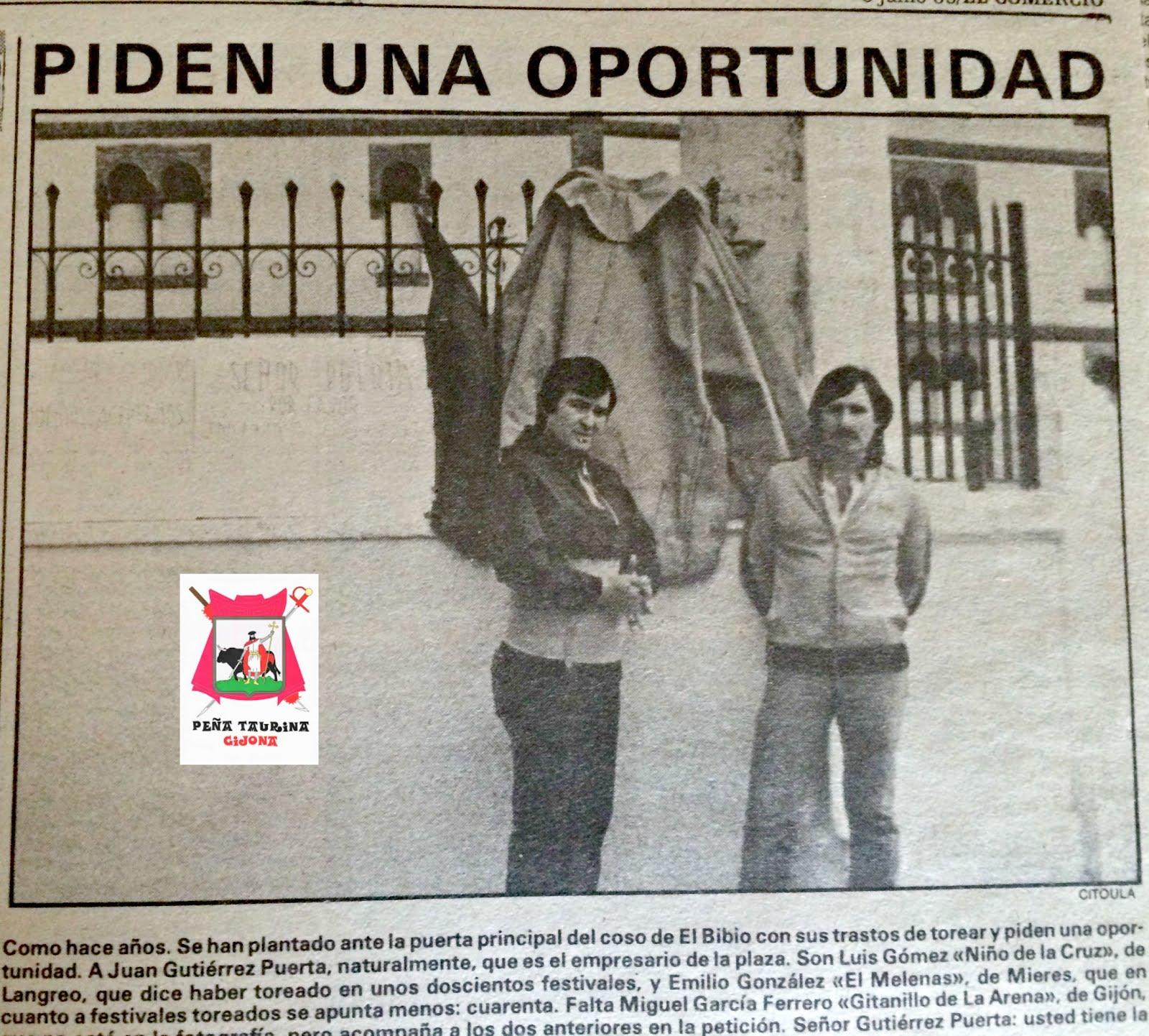 GIJON TOROS LA OPORTUNIDAD