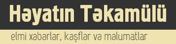 Həyatın Təkamülü