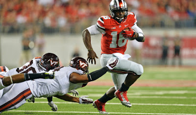J.T. Barrett still hasn't gotten over Ohio St. loss to Virginia Tech last season.