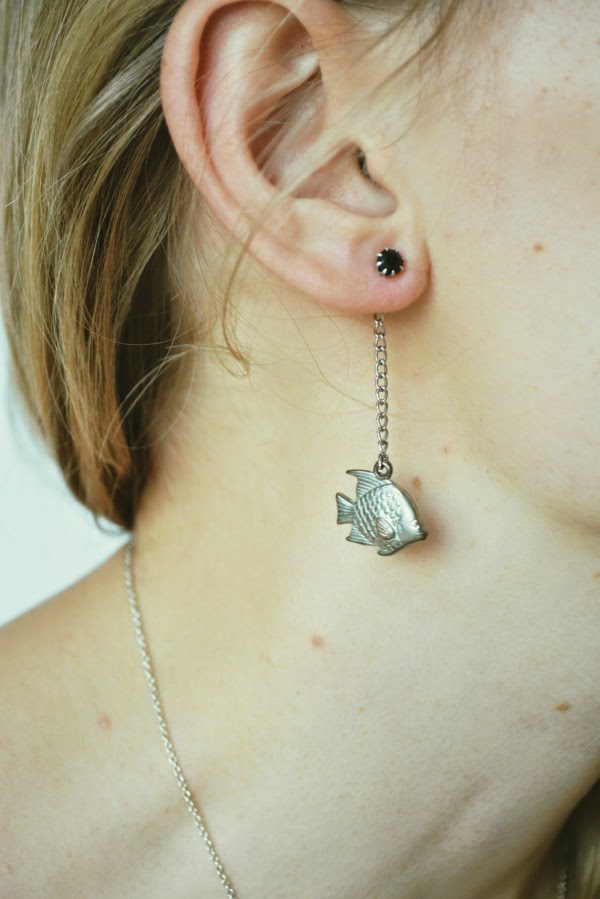 diy make a backdrop earring in minutes
