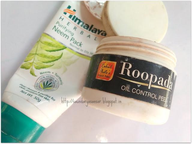 Face Packs Empties- Himalaya Herbals, Rahul Phate