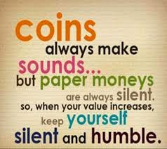 Always be humble quote
