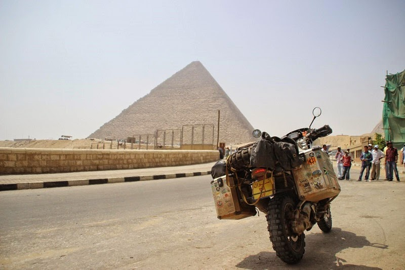 Egypt on a motorcycle