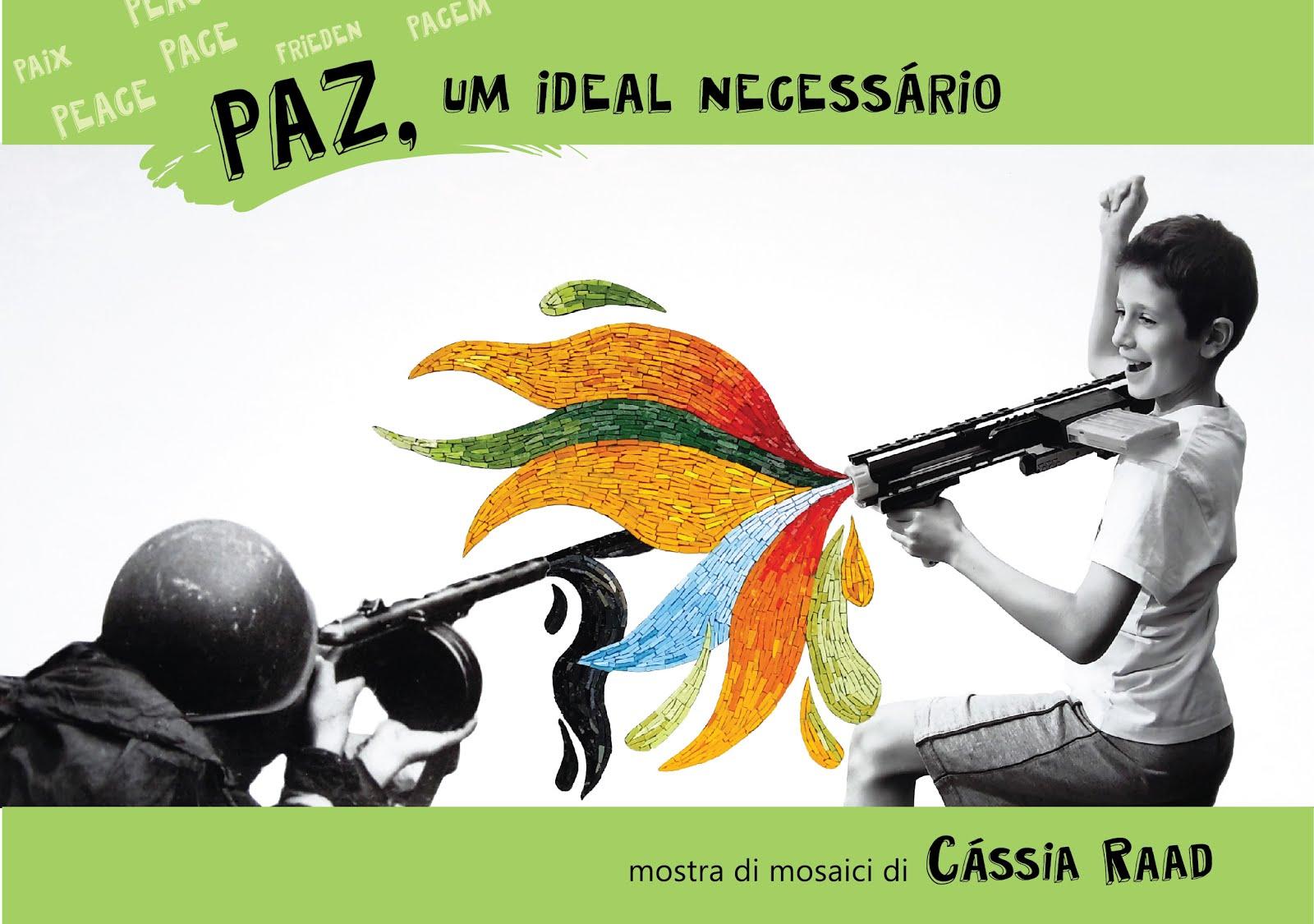 """Mostra """"Paz, um ideal necessário"""" - 4 a 22 novembre,Spazio Klien di Borgo Valsugana, Trento"""