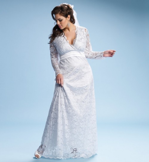 Big brides figure plus size wedding dresses gowns for Wedding dresses for larger figures