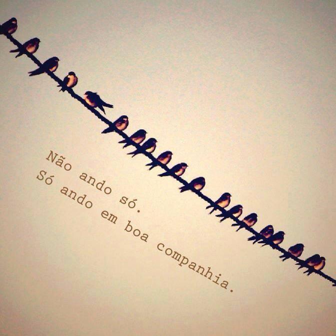 Não ando só ☾☆