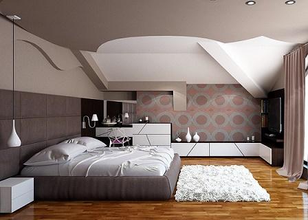 Lindos dormitorios en colores neutros ideas para decorar dormitorios - Camere da letto in pelle ...