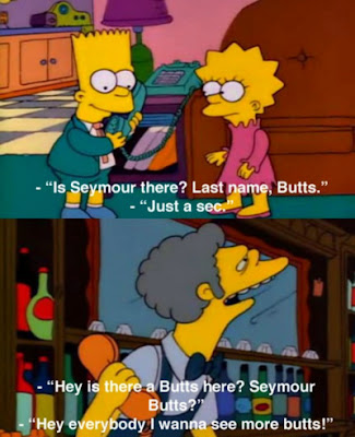 image: Seymour Butts - Bart Simpson