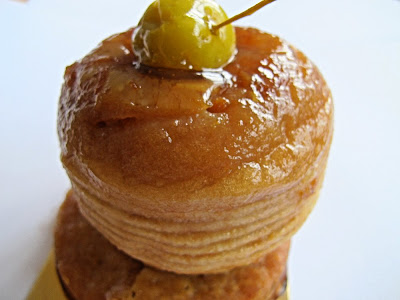 Pâtisserie L'Ecureuil - Tarte tatin à l'orange
