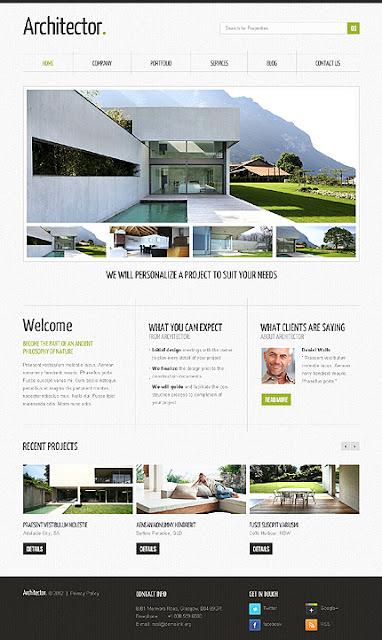 Architecture Wordpress Theme4