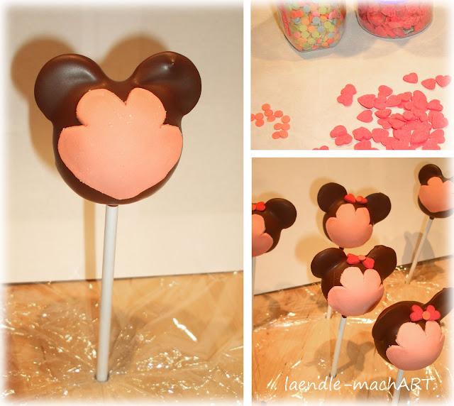 Foto-Anleitung, Mickey, Minnie, DIY