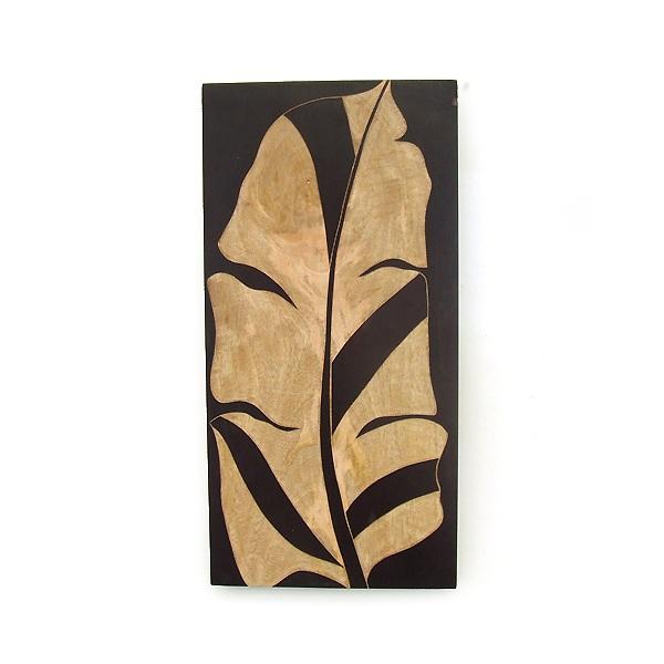 Wall Plaque Mango Wood Wall Art Plaque 8x16 Sculpture
