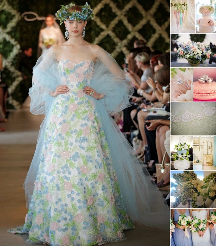 Colorful floral wedding dresses http refreshrose for Floral print dresses for weddings