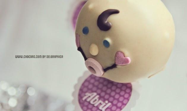 Baby cakepops - cómo hacer un cakepop en forma de bebé