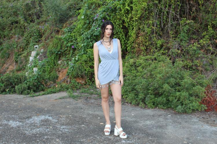 OOTD: ZNU gray dress