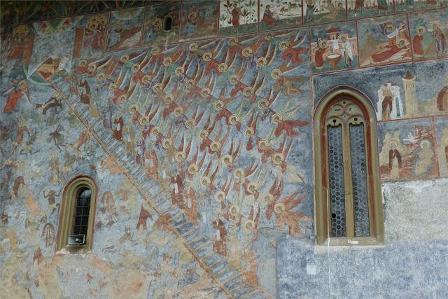 Escala de las Virtudes - Monasterio de Suceviţa
