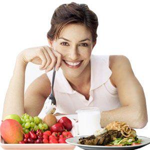 Dieta correcta Salud en la Mujer