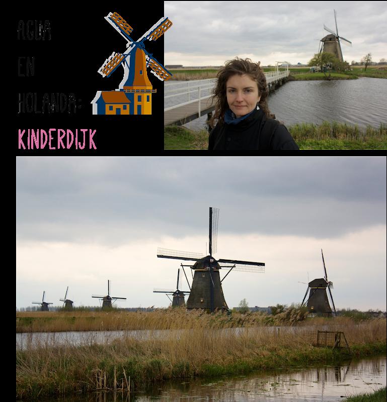 Molinos Kinderdijk Holanda
