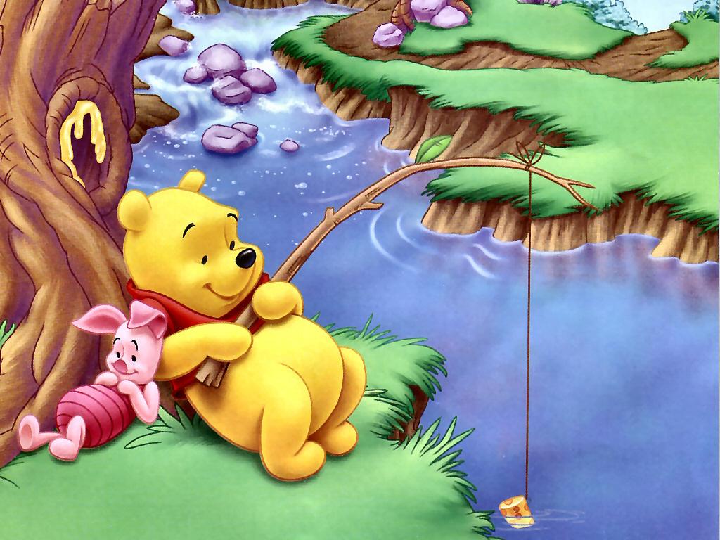 Banco de im genes gratis 33 im genes de winnie pooh y sus amigos de disney - Winnie the pooh and friends wallpaper ...