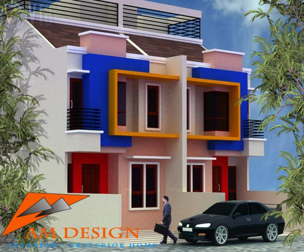 desain eksterior interior rumah minimalis modern idaman