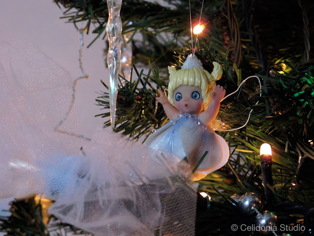 fairy christmas tree