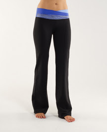 lululemon astro pants in pigment blue