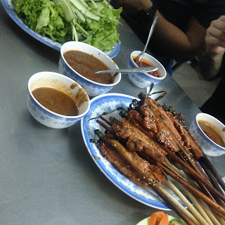 vietnam, otcb on tour, meat, nem nuong