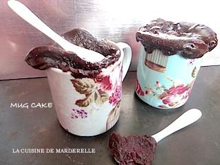 recette de Mug cake au chocolat