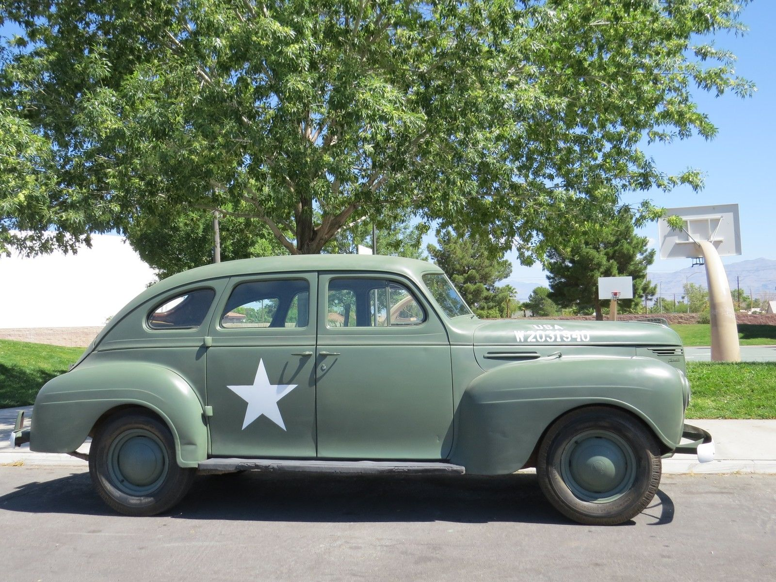 Used Cars Las Vegas >> Daily Turismo: 5k: Army Air Force Staff Sedan: 1940 Plymouth P10