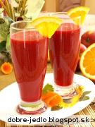 Zeleninovo-ovocné smoothie - recept