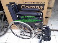 harga kursi roda onemed corona
