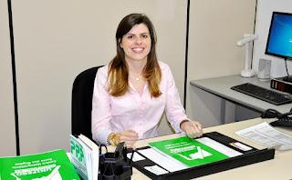 Professora Vivian Telles Paim, coordenadora dos cursos de Engenharia de Produção e de Engenharia Ambiental e Sanitária do Centro Universitário Serra dos Órgãos (UNIFESO)